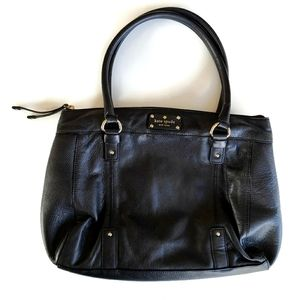 Kate Spade Pebbled Leather Shoulder Handbag